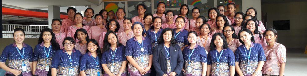 Kepsek Penabur Yakin Apa Yang Diberikan Kepada Rombongan Studi Banding Dari TNS Dapat Diimplementasikan