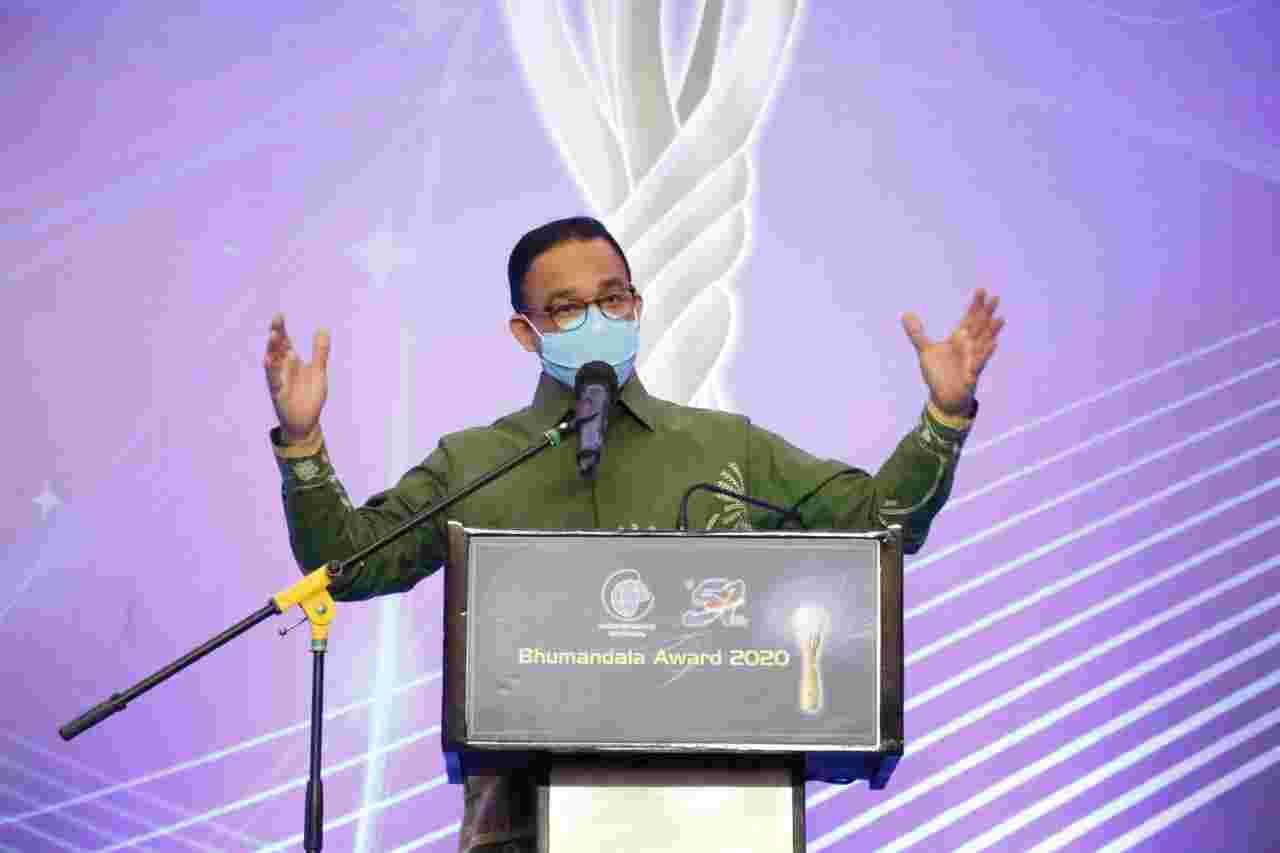 Pemprov DKI Jakarta Raih Dua Penghargaan Bhumandala Award 2020