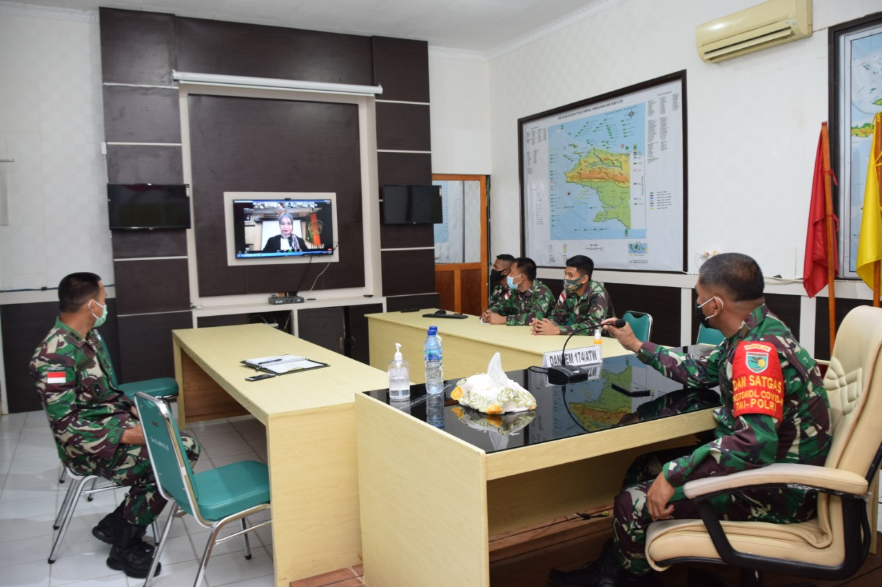 Brigjen TNI Bangun Nawoko RaihPeringkat1Pelatihan Kehumasan Unsur Pimpinan TNI ADTA. 2020