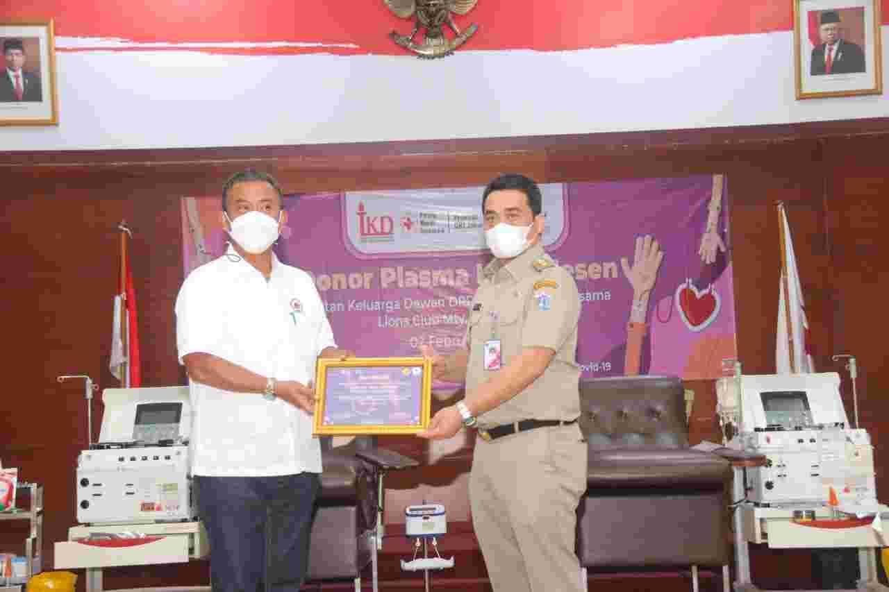 Wagub Ariza Dukung Giat Donor Plasma Konvalesen, Penyintas Covid-19 Diharapkan Berpartisipasi