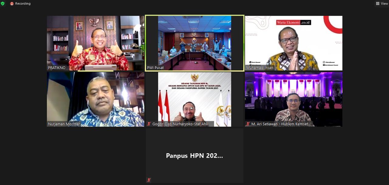 Presiden Joko Widodo Dipastikan Hadir Pada Hari Pers Nasional 2021