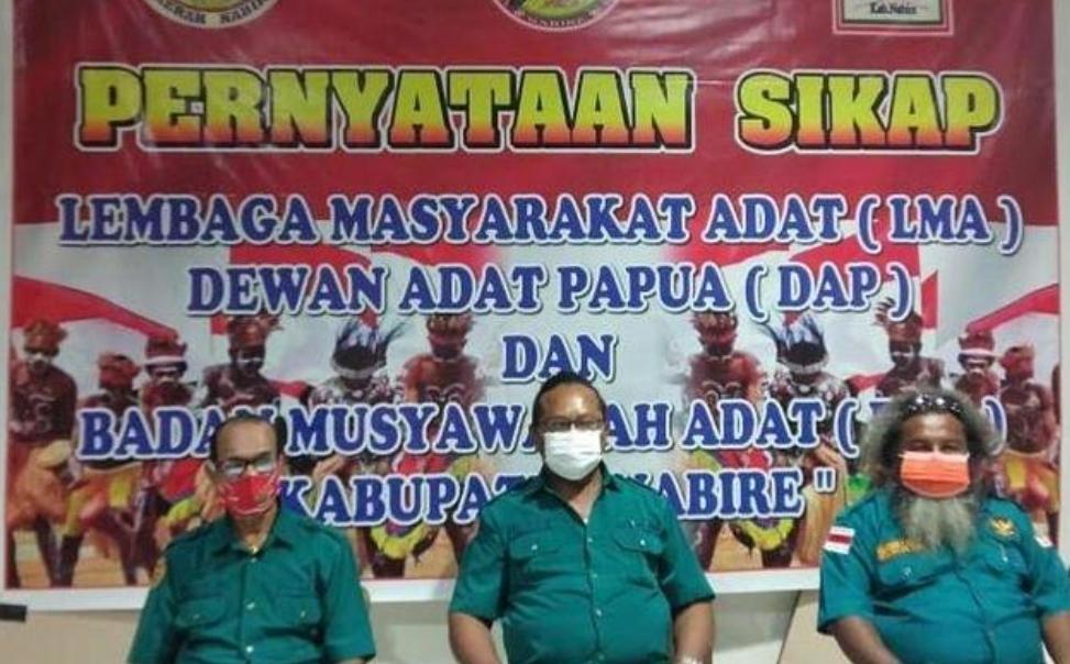 Nyatakan Sikap, Lembaga Adat Papua Minta KKB Ditetapkan Sebagai Organisasi Teroris
