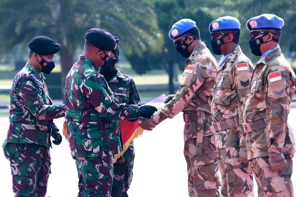 Panglima TNI: Satgas BGC dan Kizi Kontingen Garuda Berhasil Dalam Misi PBB di Kongo