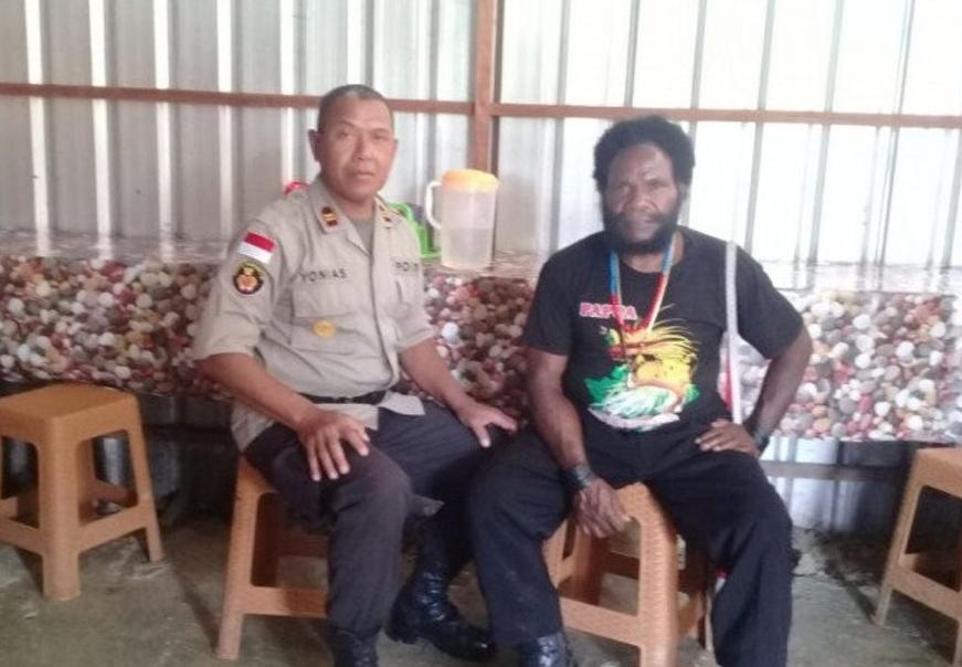 Diancam Tembak Mati oleh Teroris OPM, Kepala Suku Kimak: Jangan Takut, TNI-Polri Jaga Papua