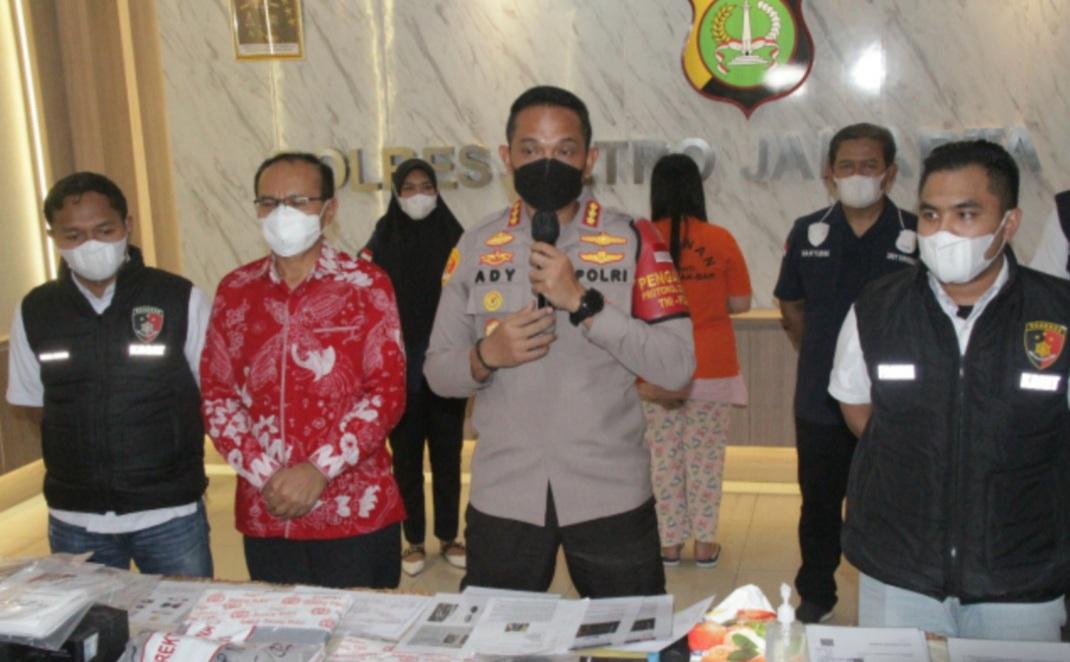 Polisi Tangkap Wanita Pelaku Investasi Bodong
